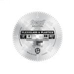 "FREUD LU94M010 - 10"" x 80T Plastics & Plexiglass Saw Blade U.S.A. (Made in Italy) -ใบเลื่อยสำหรับตัดพลาสติค และอคริลิคโดยเฉพาะ"
