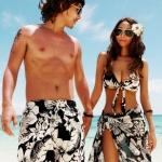[พร้อมส่ง]BeachMan-616 กางเกงขาสั้นเที่ยวทะเลของผู้ชาย ใส่เดินเล่นได้ทั่วไป ลายสวย