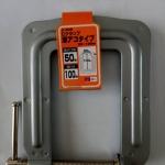 SK11 C-50D แคล้มป์ตัว G คอลึก 100 มม. จากญี่ปุ่น (G-Clamp Deep Mouth)