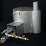 หม้อนึ่งโคตรร้อน รุ่นพกพา (Super heat Boiler (small))