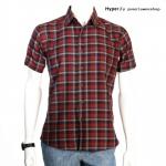 Hyper - เสื้อลายสก๊อต วินเทจ เสื้อแฟชั่น ผู้ชาย