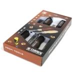 NAREX 863020 set of bevel edge chisels, สิ่วชุด 4 เล่มขนาด 6มม. 12มม. 20มม. และ 26 มม.