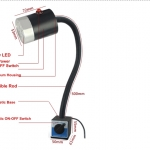 9w Waterproof LED Machine Work Light with Magnetic ON-OFF Base