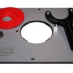 JessEm Rout-R-Plate Phenolic Router Table Insert Plate - แผ่นเพลทสำหรับติดเร้าเตอร์กับโต๊ะเร้าเตอร์