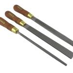 NAREX 854252 3-pc 200mm. fine cut Premium Rasp Set - ชุดบุ้งขัดไม้รุ่นพรีเมียม ชนิดฟันละเอียด (fine cut) ขนาด 200มม. 3 แบบจาก Narex