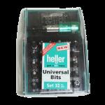 Heller Tools -289139 Heller Universal Bit Set - ชุดดอกไขควง 32 ตัว/ชุด