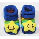 [ลายดาวสีน้ำเงิน] ถุงเท้าเด็กอ่อนลายสัตว์