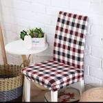 ผ้าคลุมเก้าอี้ลายสก๊อต CH-014