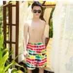[พร้อมส่ง]BeachMan-818 กางเกงขาสั้นผู้ชาย colorful สีสันสดใส