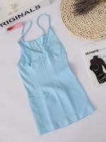 เสื้อกระชับสัดส่วน Munafie สีฟ้า (M)