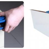 เครื่องมือเก็บขอบ และ เครื่องมือตัดปลาย PVC ปิดขอบลามิเนต (Hand Edge Trimmer & End Trimmer)