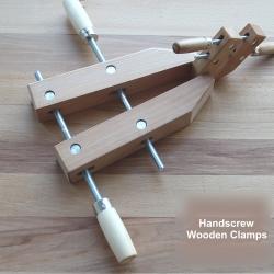 SIT Beech Handscrew Wooden Clamps - แคล้มป์ไม้มือหมุนไม้บีช