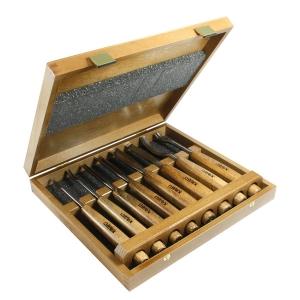 NAREX 868000 Carving tools PROFI - ชุดงานแกะสลักไม้ ทำมือ (hand made)