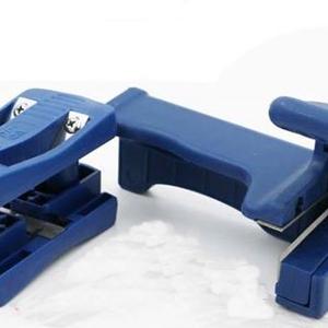 เครื่องมือเก็บขอบ และเครื่องมือตัดปลาย วีเนียร์ PVC หรือวีเนียร์ไม้สักปิดขอบลามิเนต