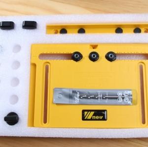 W-NEW Cabinet Hardware Jig - จิ๊กสำหรับติดตั้งมือจับ ปุ่มดึง ลิ้นชัก ประตูตู้