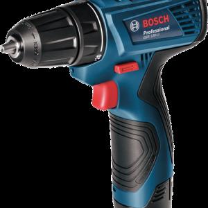 BOSCH GSR120-Li - สว่าน/ไขควงไฟฟ้าไร้สาย บ๊อช GSR 120-LI Professional (แบต 1.5Ah x2 ก้อน) New 2017