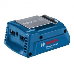 BOSCH GAA 18V-24 USB Charger แหล่งจ่ายไฟ USB ใช้งานร่วมกับแบตเตอรี่เครื่องมือไร้สายของบ๊อช (ไม่รวมแบตเตอรี่)