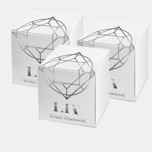 Liv White Diamond Skin 3 กระปุก