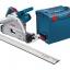 Bosch GKT55GCE Track Saw- 3.2m. Track set (ชุดเลื่อยรางบ๊อช พร้อมราง 1.6 ม. 2เส้น (ยาวรวม 3.2 ม.) ตัวต่อราง และกล่องใส่เลื่อย L-Boxx) thumbnail 1