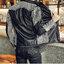 เสื้อแจ็คเก็ต หนังpu เสื้อแฟชั่นผู้ชาย สินค้านำเข้า thumbnail 1