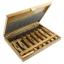 NAREX 869010 set for detailed carving, PROFI ชุดมีดแกะสลักสำหรับเก็บงานที่มีรายละเอียดมาก