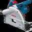 Bosch GKT55GCE Professional Track Saw Standard Set (เลื่อยรางบ็อชชุดมาตรฐาน พร้อมราง 1.6 ม. และกล่องใส่เลื่อย L-Boxx) thumbnail 2