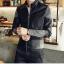 เสื้อแจ็คเก็ต หนังpu เสื้อแฟชั่นผู้ชาย สินค้านำเข้า thumbnail 6