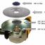 Kutzall Extreme Shaping Dish - Very Coarse, Tungsten Carbide Coating - จานขัดไม้คาร์ไบด์ชนิดหยาบมาก (Made in U.S. A.) thumbnail 5