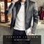 เสื้อแจ็คเก็ต หนังpu เสื้อแฟชั่นผู้ชาย สินค้านำเข้า thumbnail 8