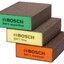 ฟองน้ำขัด Bosch รุ่น Flat & Edge (แพ็ค 3 ชิ้น) - Abrasive Sponge Set - Blue (3-Piece) - 2608621253 thumbnail 1