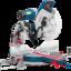 "Bosch GCM12GDL - เลื่อยตัดองศาสไลด์ 12"" พร้อมเลเซอร์นำทางเส้นคู่"
