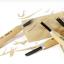 NAREX 869300 Carving set START in leather tool roll - มีดแกะสลัก ชุดเริ่มต้นพร้อมม้วนหนังสำหรับเก็บมีด thumbnail 3