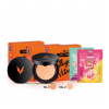 Envy Powder (No.2) 2 ตลับ (No.3) 1 ตลับ Envy Aloe Vera Mask 3 ซอง Envy Tomato Mask 3 ซอง