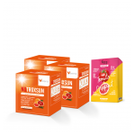 NUTROXSUN นูทรอกซ์ซัน 3 กล่อง Envy Tomato and Grapefruit Facial Mask 1 กล่อง