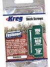 "Kreg Stainless Steel Deck Screw -51mm/ 2"", #8 Coarse Pan Head, 100 Ct (สกรูยึดพื้นระเบียงสเตนเลสขนาด 2 นิ้ว)"