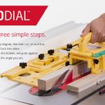MICROJIG MicroDial Taper Jig TJ-5000- จิ๊กช่วยในการตัดเอียง