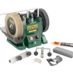 """RECORD POWER WG200-PK/A 8"""" Wet Stone Sharpening System Package (UK)"""