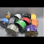 เส้นพลาสติค PLA สี BLACK ขนาด 1.75 มม. ขนาด 1 กก. (1.75mm PLA filament-1kg.)