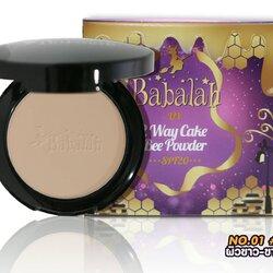 Babalah 2 Way Cake Bee Powder SPF20 บาบาร่า ออย คอนโทรล แอนด์ ยูวี ทูเวย์ เค้ก บี พาวเดอร์ สูตรใหม่ ไขผึ้งชั้นดีจากฟรั่งเศส แป้งของวุ้นเส้น