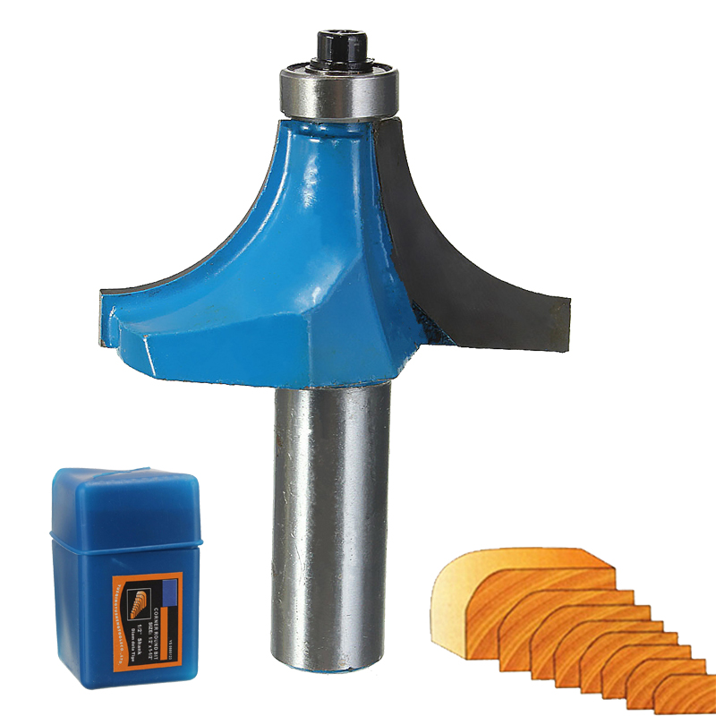 """Round Shank 1//4/"""" x 3//4/"""" Dovetail Router Bit Cutter for Carpenter"""